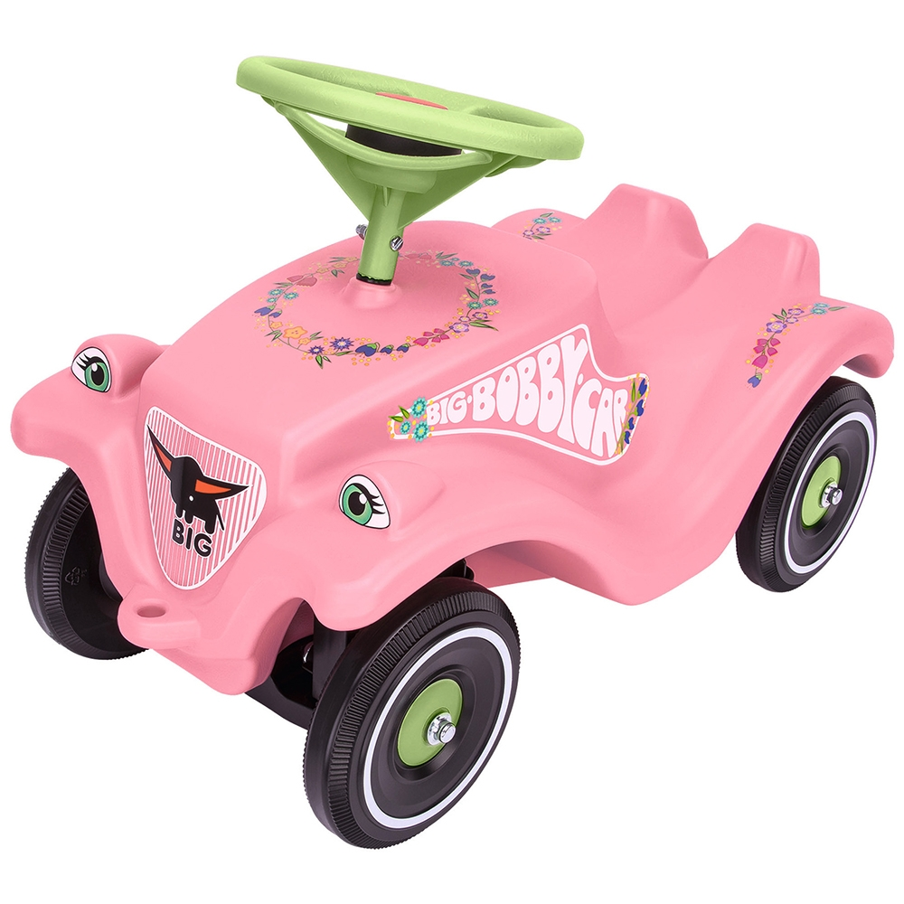 Masinuta de impins Big Bobby Car Classic Flower imagine