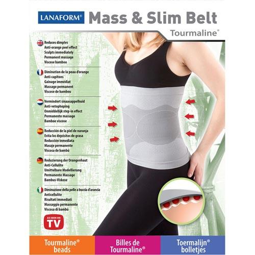 Centura Anticelulitica Mass & Slim Belt Lanaform