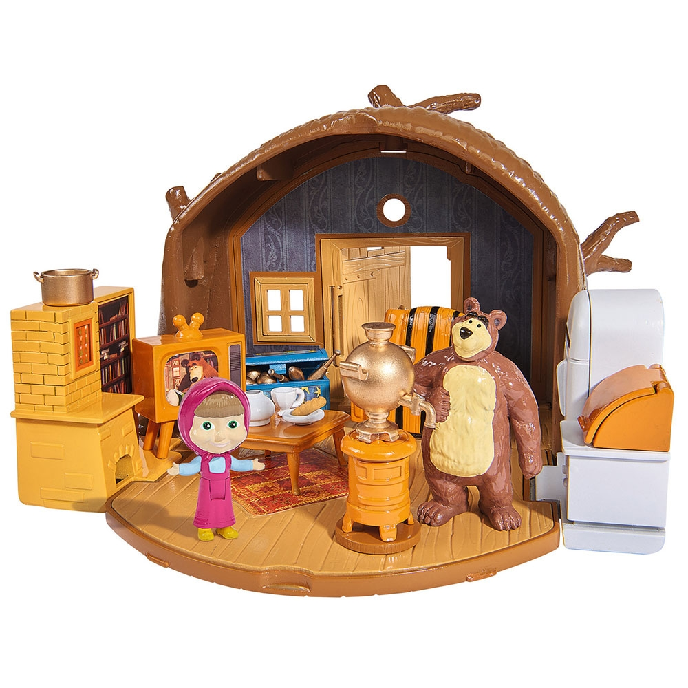 Jucarie Simba Masha and the Bear Bear`s House