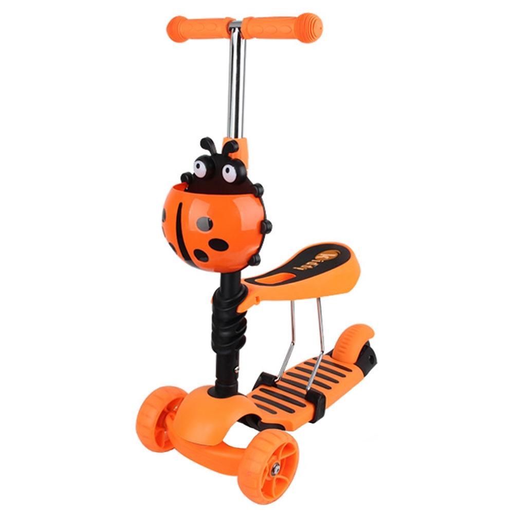 Trotineta Chipolino Kiddy Evo orange imagine