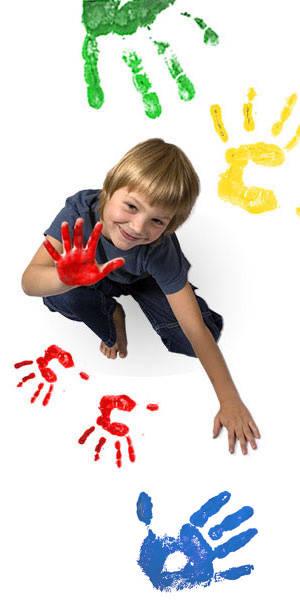 Vopsea pentru pictura cu degetele - MINI