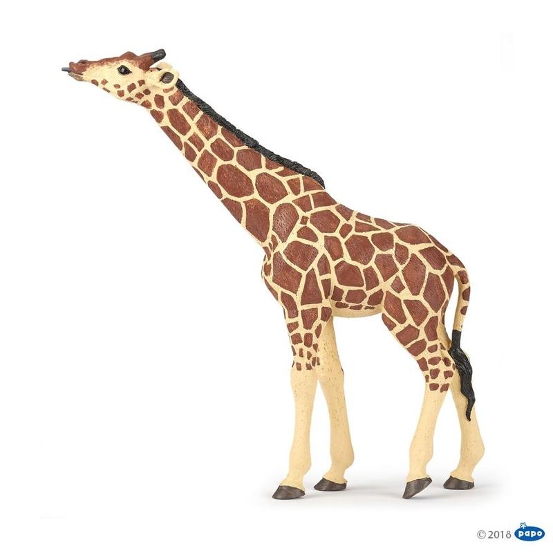 Figurina Papo-Girafa cu cap ridicat