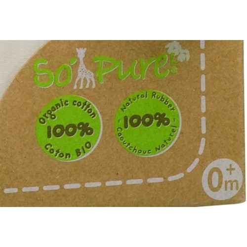 """Set Pentru Nou-nascuti Bio """"so'pure"""" - Girafa Sophie"""