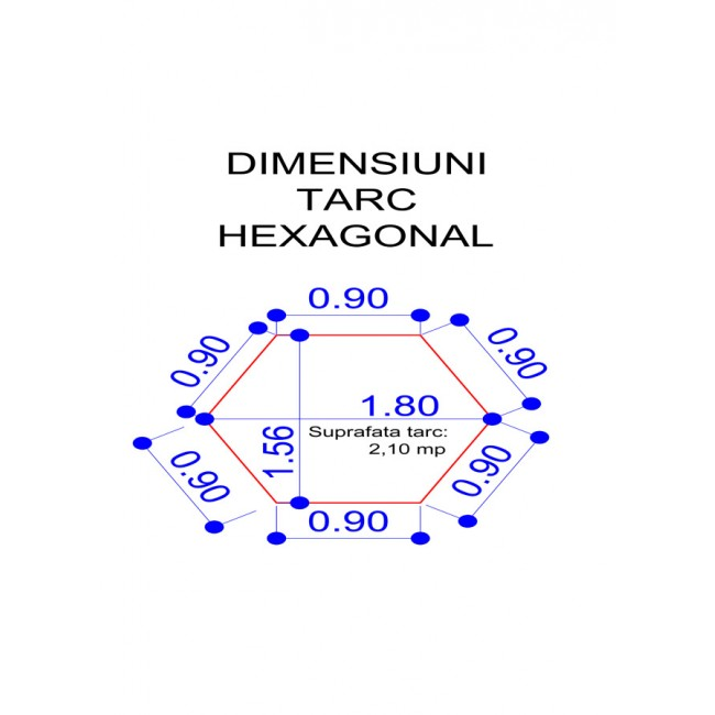 Tarc Copii Hexagonal