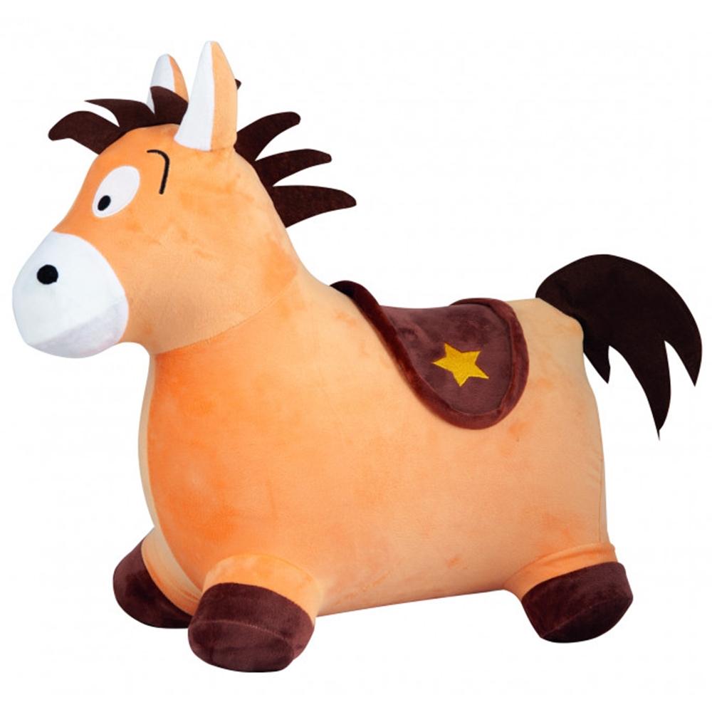 Saritor gonflabil John Pony maro cu husa plusata
