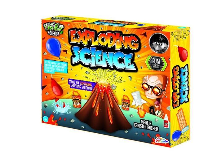 Laboratorul cu experimente explozive
