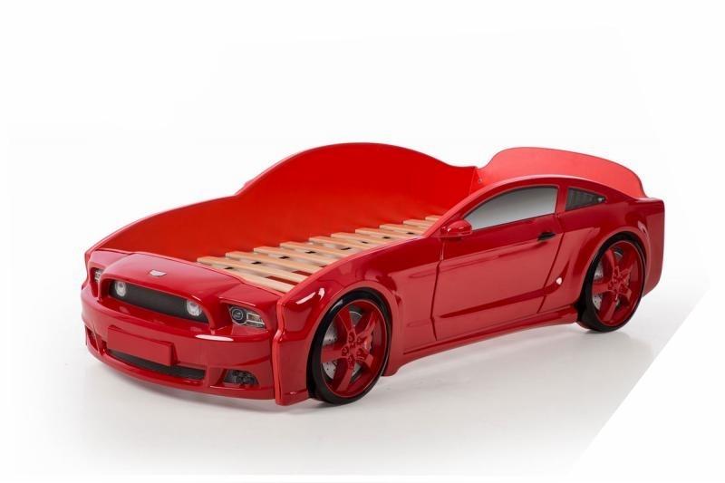 Pat masina tineret MyKids Light-MG 3D Rosu imagine