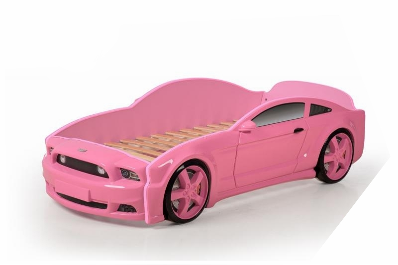 Pat masina tineret MyKids Light-MG 3D Roz imagine