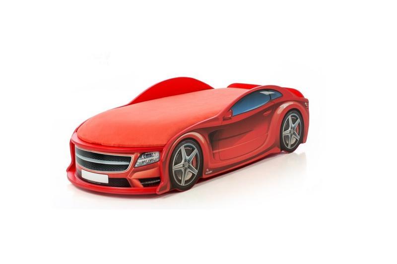 Pat masina tineret MyKids UNO Mercedes Rosu imagine