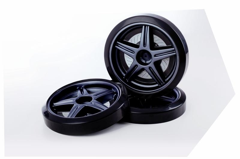 Roti 3D din Plastic pentru Pat masina tineret MyKids imagine