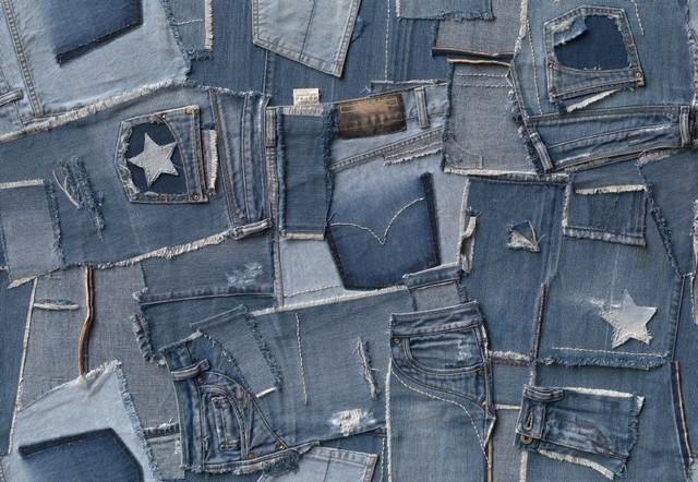 Fototapet 'jeans'