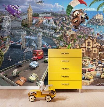 Fototapet 'lumea Masinilor' - Colectia Disney