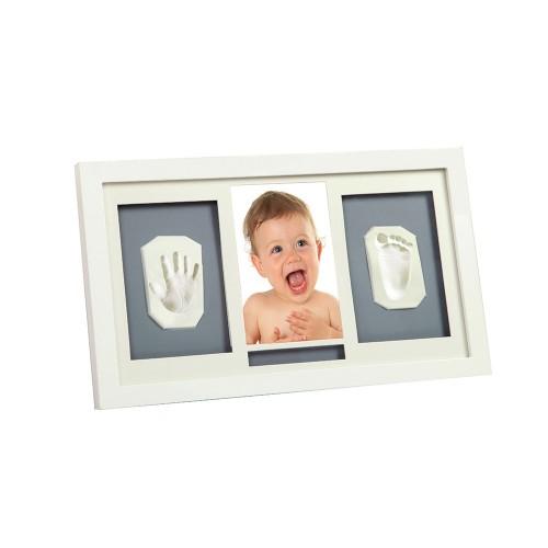 Adora - kit rama foto simpla cu amprenta mulaj manuta si piciorus imagine