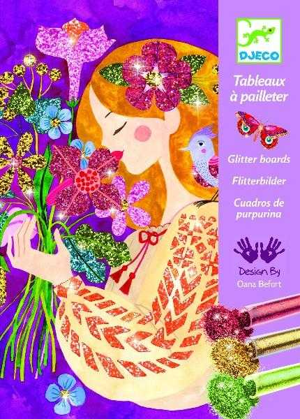 Atelier creativ cu sclipici, parfumul florilor