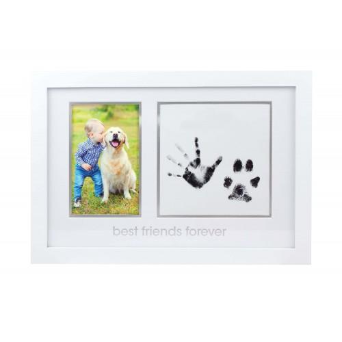 Pearhead - kit rama foto amprente cerneala - best friends forever imagine