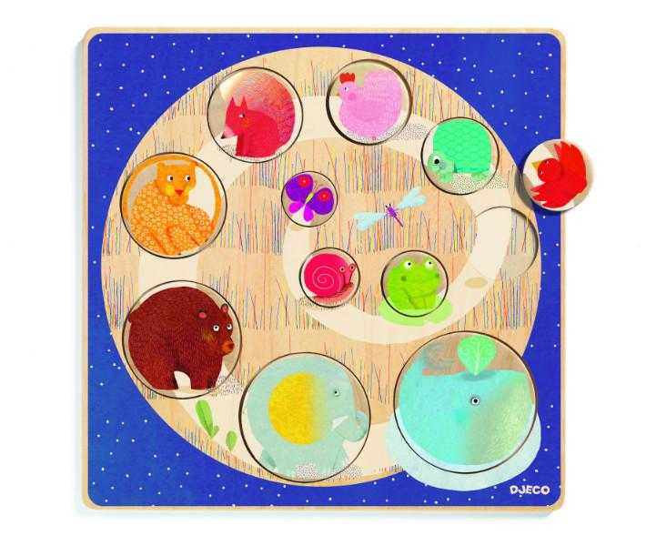 Puzzle mic-mare djeco imagine