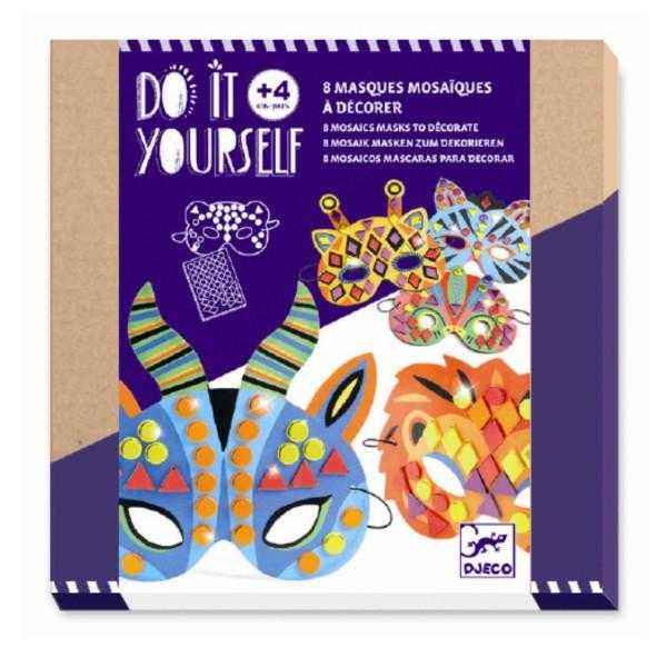 Set diy djeco, masti animale