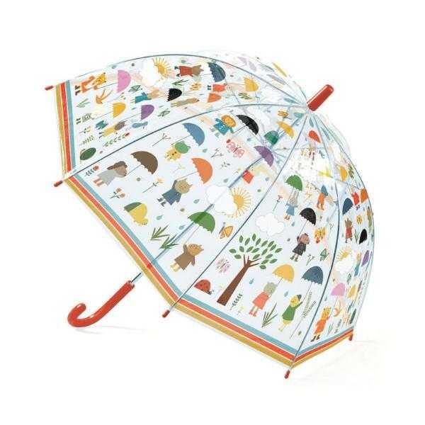 Umbrela djeco in ploaie imagine