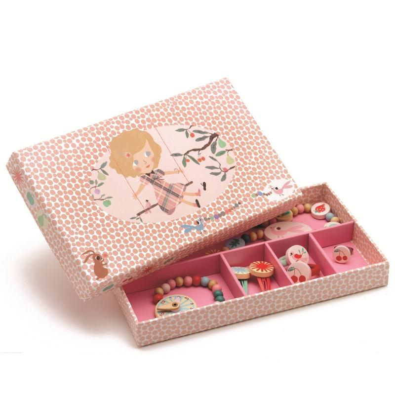 Set bijuterii roz djeco imagine