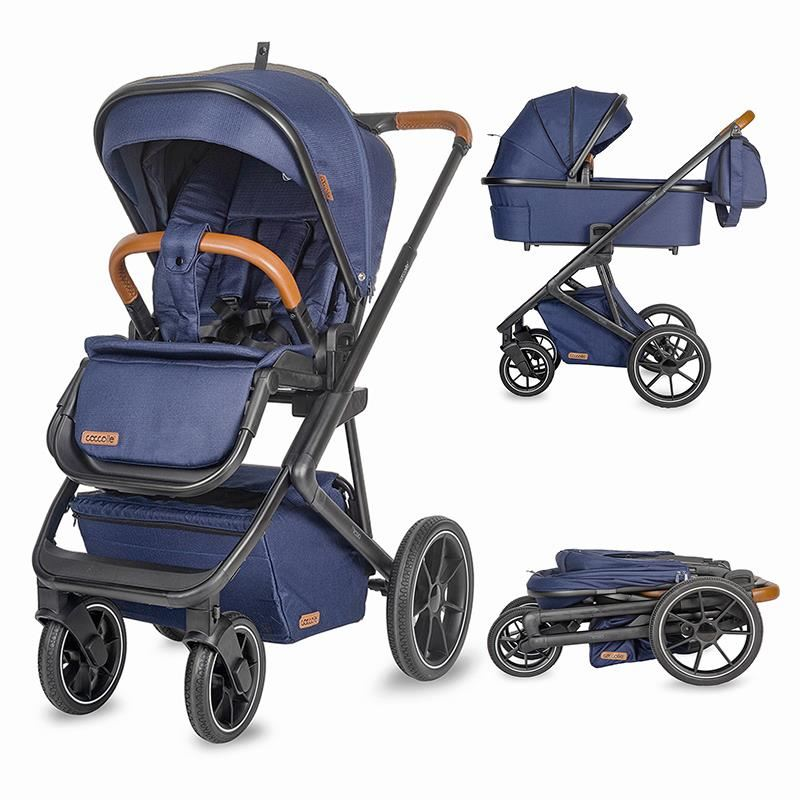 Sistem modular 3in1 Coccolle Nessia Navy Blue