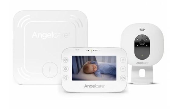 Angelcare AC527 SensAsure Videofon si Monitor de miscare cu placa de detectie wireless
