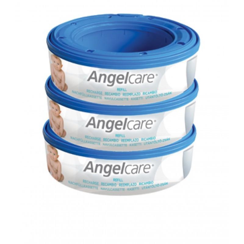Angelcare Rezerva pentru cos ermetic scutece murdare - set 3 buc imagine