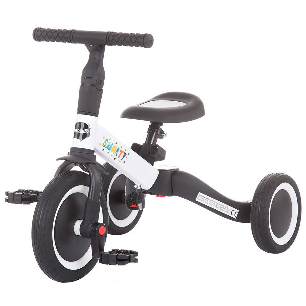 Tricicleta si bicileta Chipolino Smarty 2 in 1 white