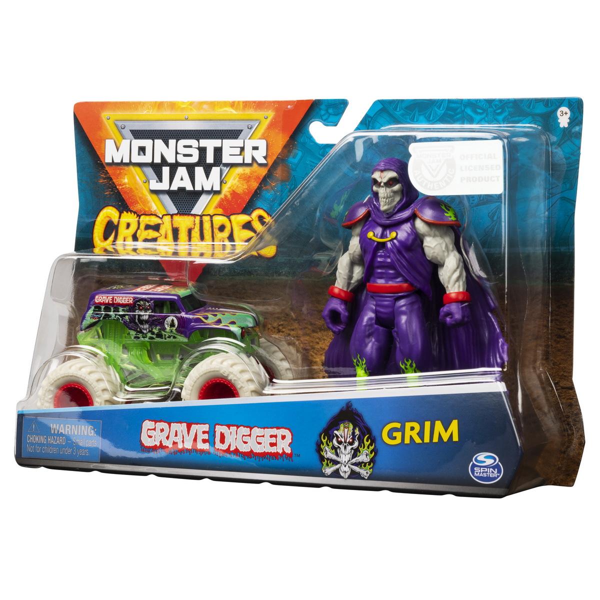 Monster jam macheta groparul si grim