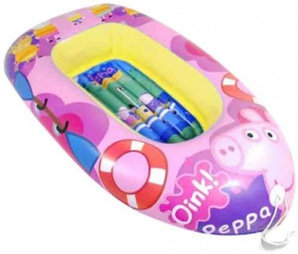 Barca gonflabila copii 110cm Saica 9115 Peppa Pig imagine