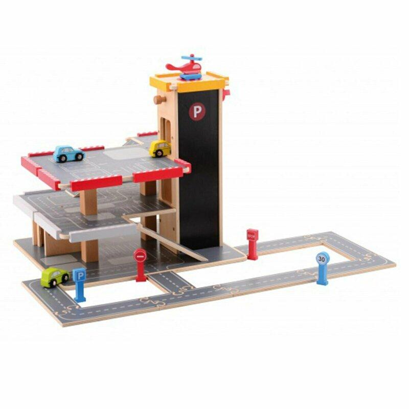 Joueco - Garaj cu 20 accesorii