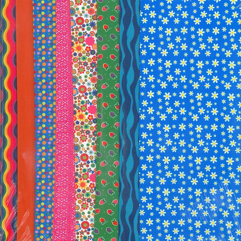 Set de materiale hainute pentru papusi Couture Blue Daisy, Dress Your Doll