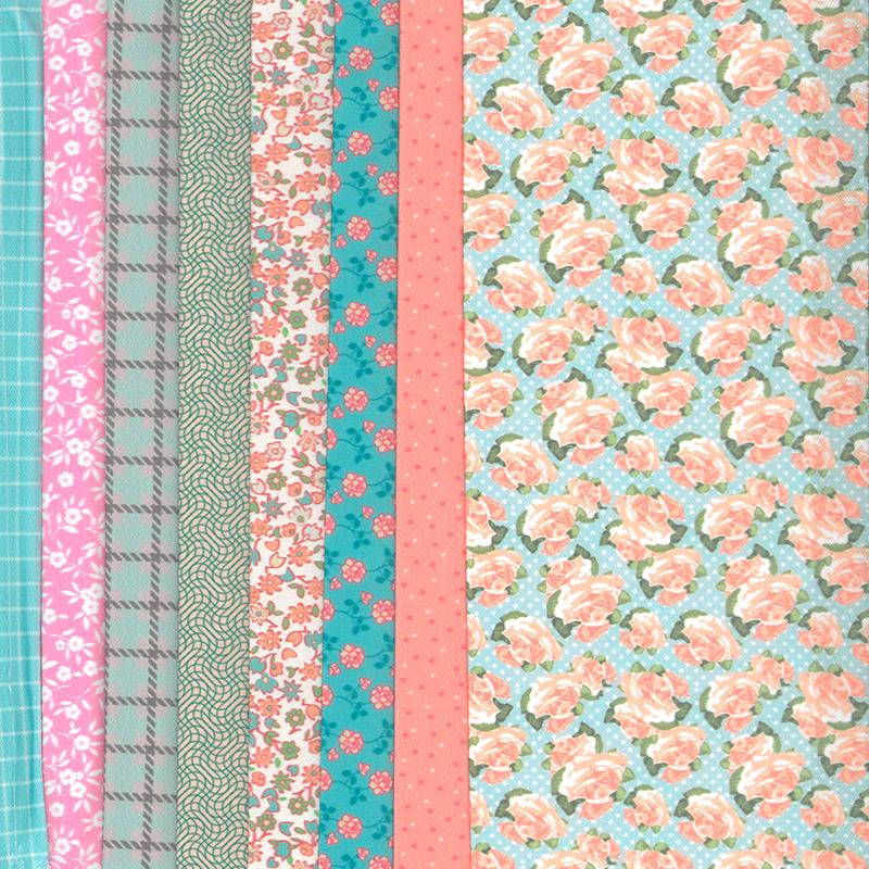 Set de materiale hainute pentru papusi Couture Pastel, Dress Your Doll
