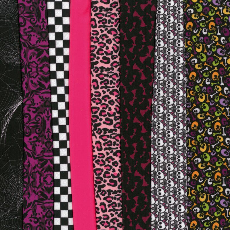 Set de materiale hainute pentru papusi Couture Monster Selection, Dress Your Doll