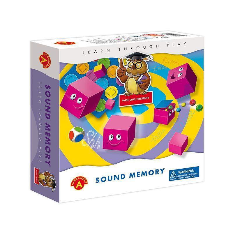 Joc educativ senzorial Perechi de sunete, Alexander Games