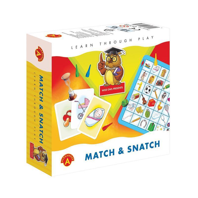 Joc educativ perechi Match & Snatch, Alexander Games