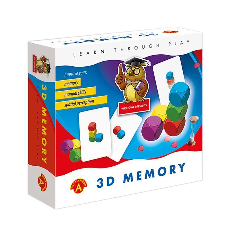 Joc educativ perceptie spatiala 3D Memory, Alexander Games