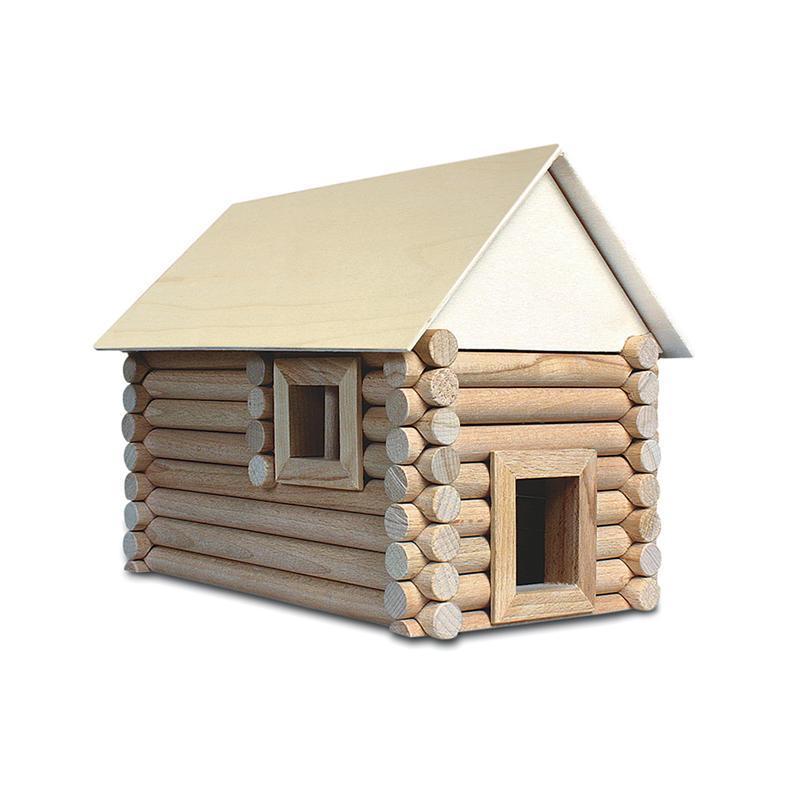 Set constructie arhitectura Vario Suitcase, 72 piese din lemn, Walachia