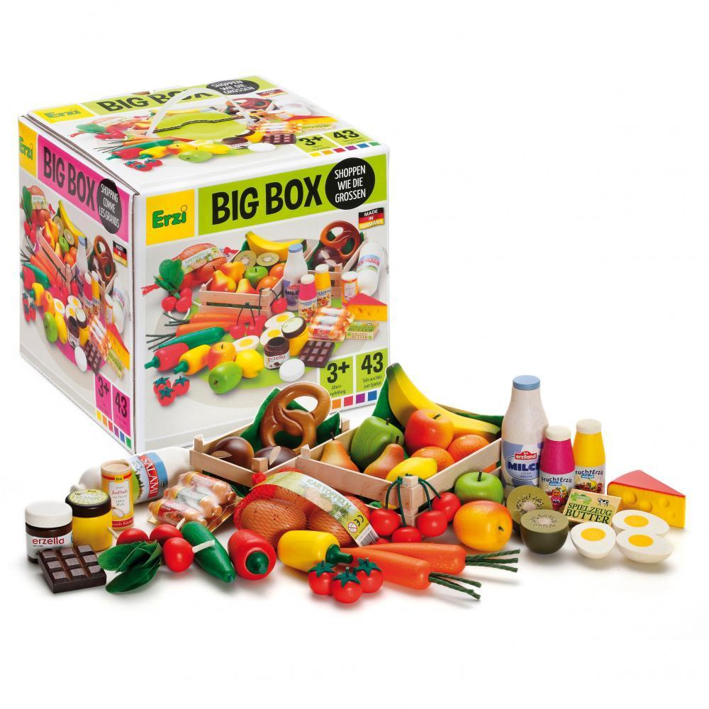 Set alimente asortate din lemn, Erzi