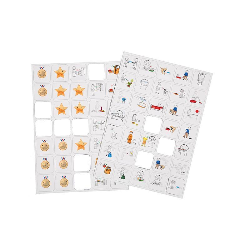Joc educativ magnetic Recompensele copiilor cu pictograme, Robo