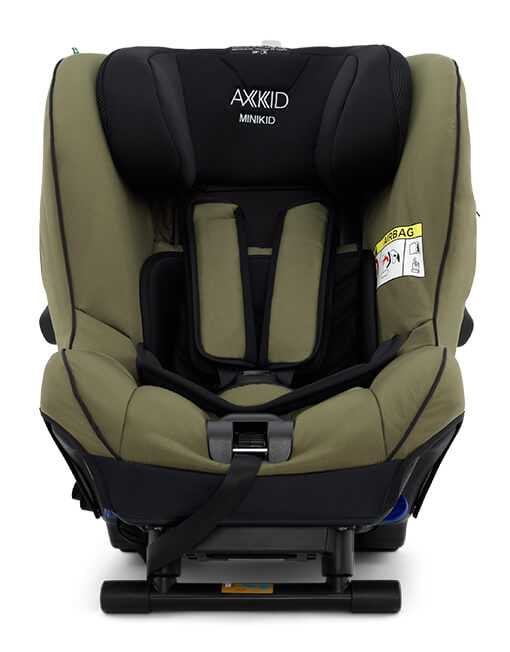 Scaun Auto Rear Facing Axkid Minikid 2.0 Premium - Moss