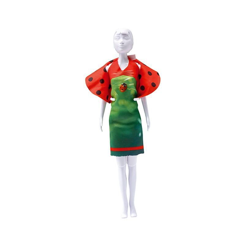 Set de croitorie hainute pentru papusi Couture Dolly Ladybug, Dress Your Doll