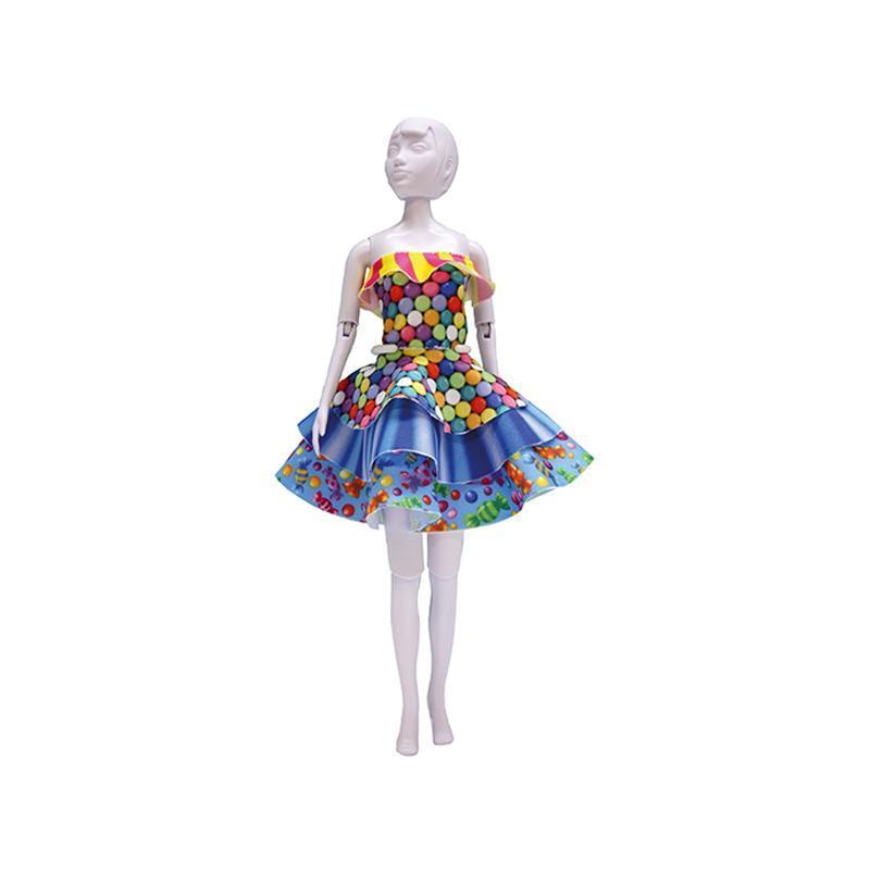 Set de croitorie hainute pentru papusi Couture Maggy Candy, Dress Your Doll