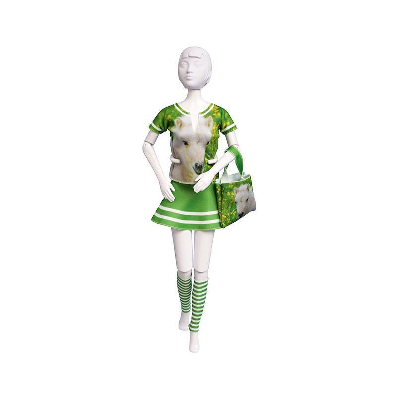 Set de croitorie hainute pentru papusi Couture Tiny Pony, Dress Your Doll
