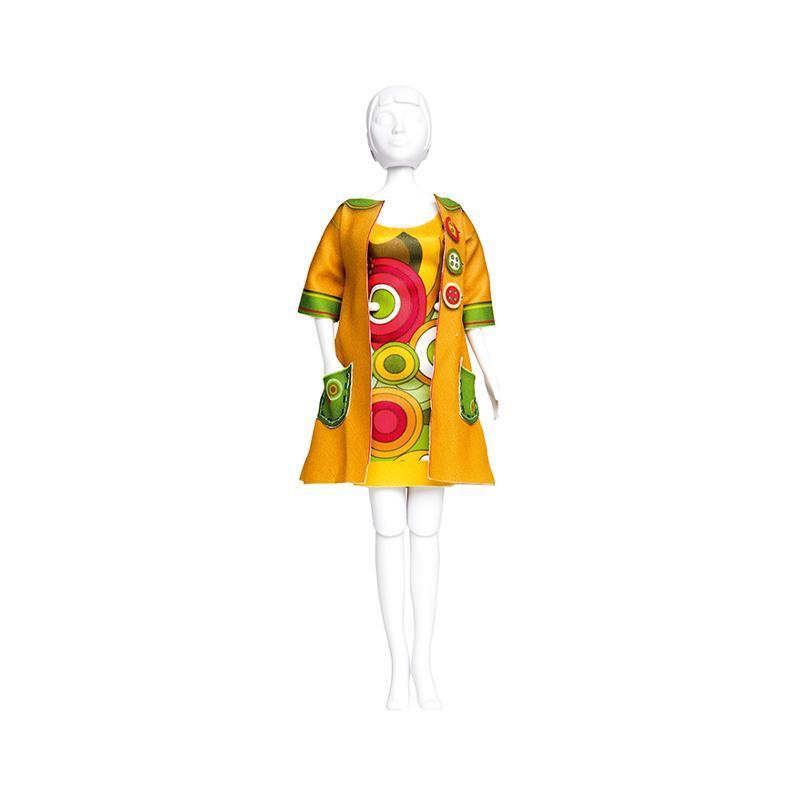 Set de croitorie hainute pentru papusi Couture Betty Funky, Dress Your Doll
