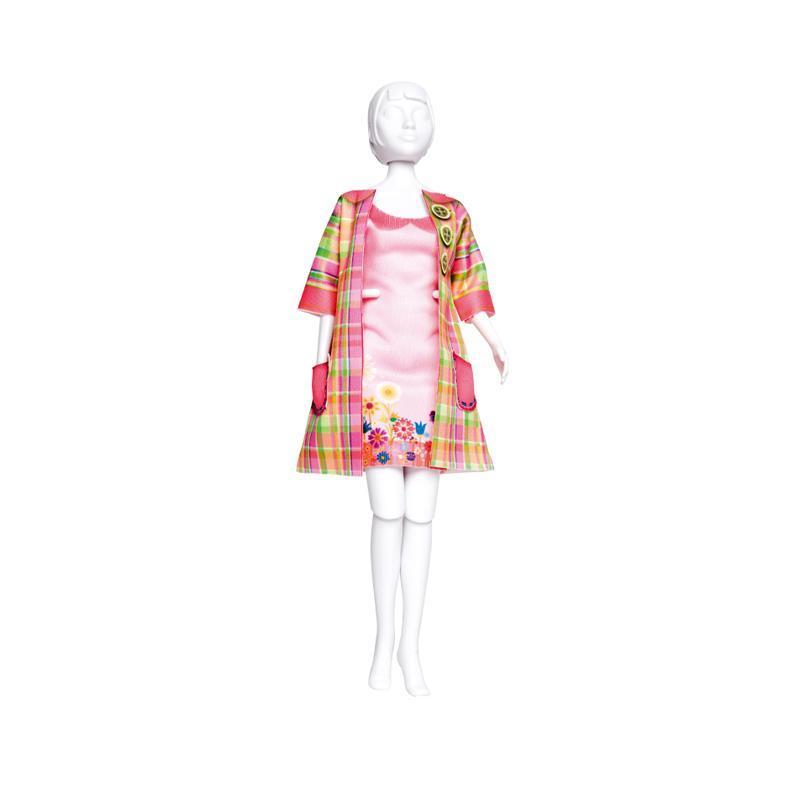 Set de croitorie hainute pentru papusi Couture Betty Madras, Dress Your Doll