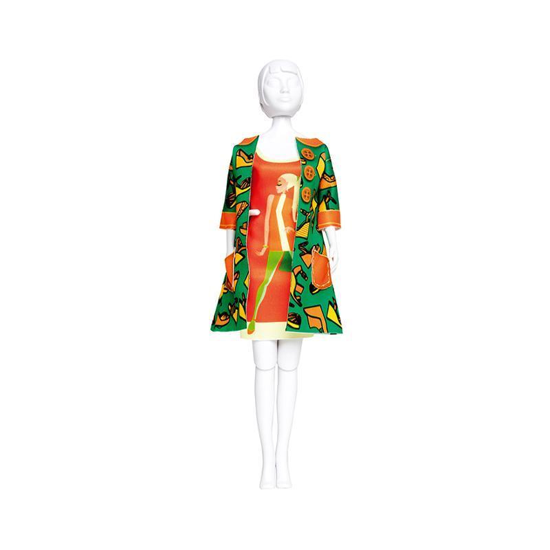 Set de croitorie hainute pentru papusi Couture Betty Shoe, Dress Your Doll