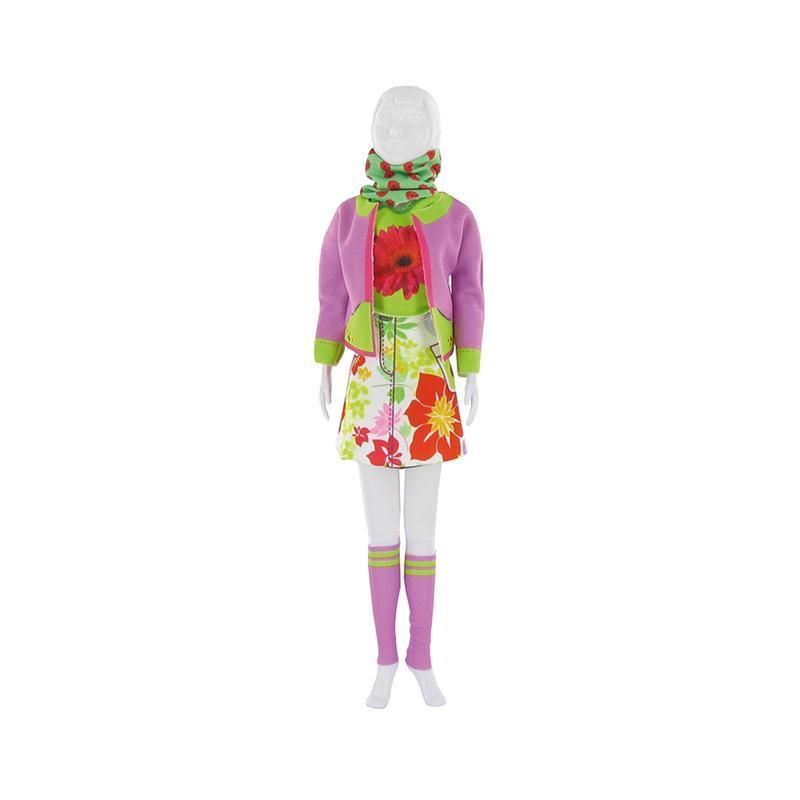 Set de croitorie hainute pentru papusi Couture Candy Flower, Dress Your Doll
