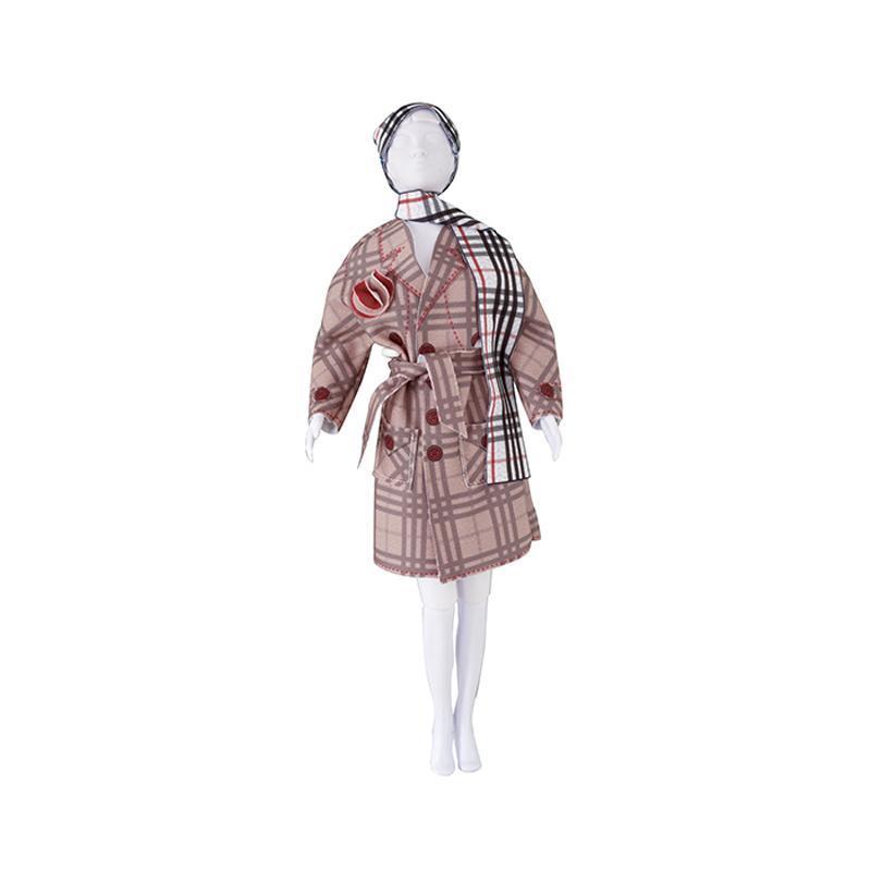 Set de croitorie hainute pentru papusi Couture Judy Classic, Dress Your Doll