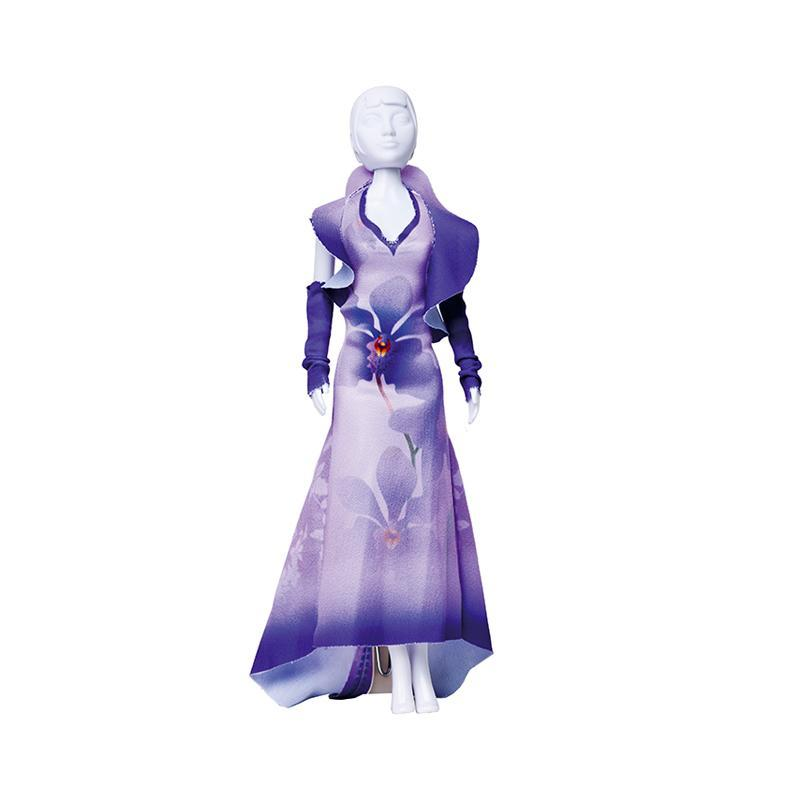 Set de croitorie hainute pentru papusi Couture Mary Orchid, Dress Your Doll