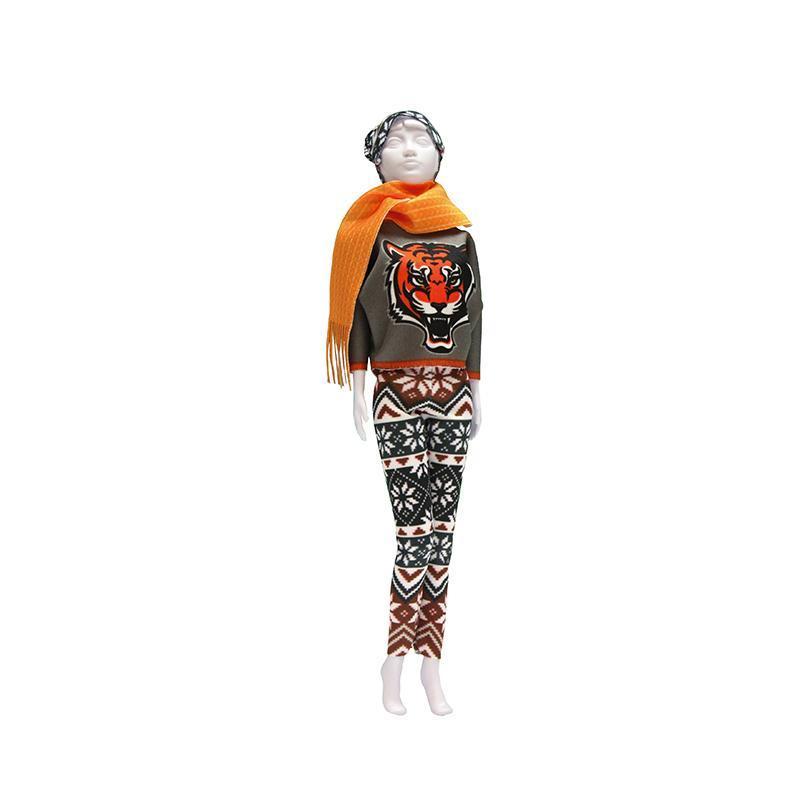 Set de croitorie hainute pentru papusi Couture Kathy Tiger, Dress Your Doll